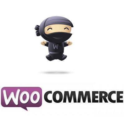 Logo de Woocommerce représentant un ninja